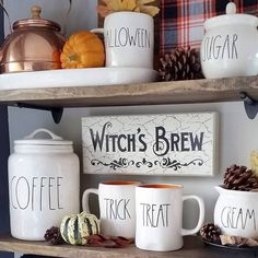 132 stoneware dishes coffee mugs