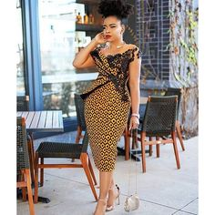 2020 African print dresses are ever available for flawless looks and fashion trends keep changing with time, this is why I've selected these latest styles to African Fashion Ankara, Latest African Fashion Dresses, African Print Fashion, Trendy Ankara Styles, Ankara Dress Styles, Blouse Styles, Ankara Mode, Outfit Stile, Ankara Stil