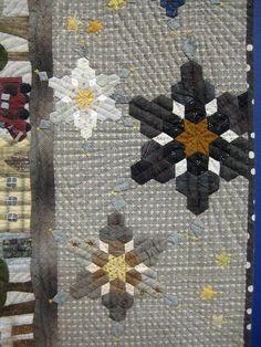 hexie snowflakes!