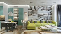 Open Apartments that Make Creative Use of Texture and Pattern
