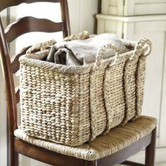 Love this laundry basket.