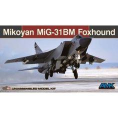 Maquette 1/48 - MIKOYAN MiG-31 BM / BSM Foxhound - AMK