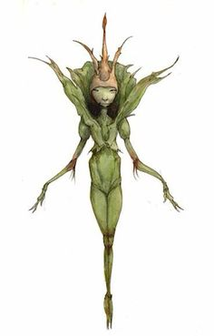 Looks very Froudian to me! Forest Creatures, Woodland Creatures, Magical Creatures, Fantasy Creatures, Brian Froud, Spiderwick, Kobold, Ange Demon, Elves And Fairies