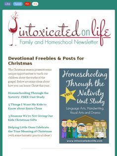 Helping Your Kids Celebrate the REAL meaning of Christmas + Freebies & Giveaways! Check out this Mad Mimi newsletter