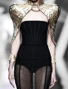 Aristocrazy Fall 2014 This could be armor, right?