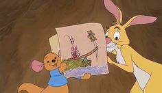 Screencap Gallery for Piglet's Big Movie DVD, Disney Sequels, Winnie the Pooh). When the gang from the Hundred Acre Wood begin a honey harvest, young Piglet is excluded and told that he is too small to help. Cute Winnie The Pooh, Winnie The Pooh Friends, Mickey Mouse And Friends, Old Disney, Vintage Disney, Disney Princess Rapunzel, Walt Disney Animation, Disney Songs, Disney Aesthetic
