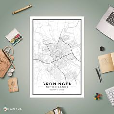 Mapiful - Create your own custom map poster Make Your Own Map, Custom Map, Colorful Decor, Editorial Design, Tool Design, Wall Colors, Design Your Own, Gallery Wall, Creative