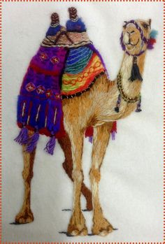 Image of Arabian Nights, The Sheikh's Camel Cushion