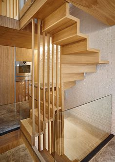 The client asked us to help them remodel their existing four-storey, slightly dilapidated mews house. London Mews House by Coffey Architects Mews House, Small Condo, Stairs Architecture, Modern Stairs, Bungalow House Design, Duplex, London House, House Stairs, Attic Stairs