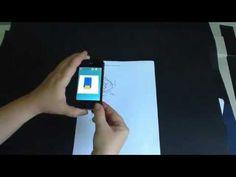 RA - Realidad aumentada para Dibujo Técnico para dispositivos móviles con Aurasma - YouTube
