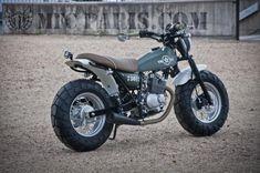 Blog of the Biker : Fat Tire Enduro Trial Revival Suzuki RV 200 VanVan Mini Adventure