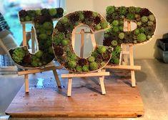 Letter frames by Blueleaf Plants