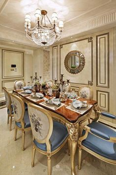 Classic Dining Rooms Furniture Inspirational 20 Classic Italian Dining Room Design and Decor Ideas Luxury Dining Tables, Elegant Dining Room, Luxury Dining Room, Beautiful Dining Rooms, Dining Room Sets, Dining Room Design, Dining Room Table, Dining Area, Classic Dining Room Furniture