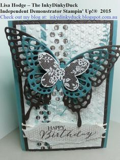 The InkyDinkyDuck: Eclectic Butterfly