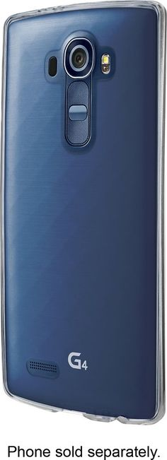Insignia™ - Case for LG G4 cell phones - Clear