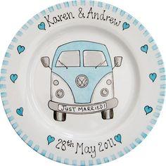 Campervan plate.
