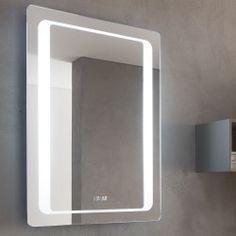 Bathroom Origins 600mm Glow Mirror
