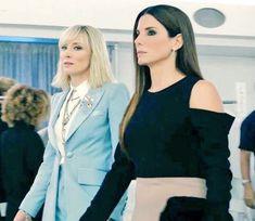 Cate Blanchett and Sandra Bullock Oceans 8, Cate Blanchett, Sandra Bullock, Female Characters, Queens, Beautiful Women, Women's Fashion, Actors, Blazer