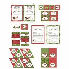 """Jingle All the Way"" Christmas Printables Collection"