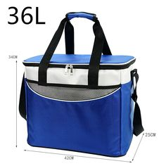 Cooler Bag High quality Car ice pack picnic Large cooler 36L bags 3 Colors - FREE SHIPPING