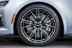 2017 Camaro Performance: forged aluminum wheels at Chevrolet Cadillac o… 2017 Camaro Performance: forged aluminum wheels at Chevrolet Cadillac of Santa Fe. Cool Sports Cars, Super Sport Cars, Cool Cars, Dodge Challenger Hellcat, Chevrolet Camaro Zl1 2017, Corvette, General Motors, Buick, Cadillac
