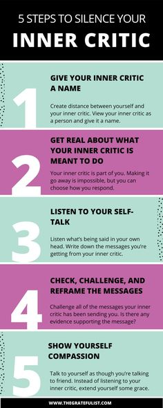 5 steps to silence your inner critic - It's the 11th episode of the #perfectionistproblems series for soul-connected yet stressed-out creatives and recovering perfectionists and one of the biggest problems that we as perfectionists face is our inner critic. Click through to learn all about how to silence your inner critic. Plus there's a FREE workbook!