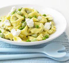 Speedy springtime pasta