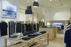 Sunspel approached Pop Store to design and build their new store in Notting Hill, London.