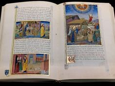 The Legendary Sforza-Savoy. Crafted in 1476 for Galeazzo Maria Sforza. Containing 300 illuminated scens that go with the text. Created by Cristoforo de Predis Duca, Milano, Miniature, Books, Crafts, House, Book, Libros, Manualidades