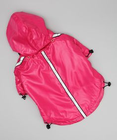 Take a look at this Hot Pink Reflecta-Sport Rainbreaker on zulily today!