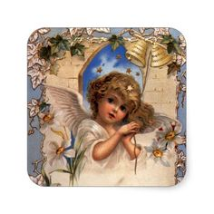 Avoid any messy dinners with Victorian Angels Cloth napkins from Zazzle. Browse through our marketplace of paper and cloth napkins ranging in different styles and sizes. Victorian Angels, Victorian Christmas, Vintage Christmas, Christmas Angels, Christmas Themes, Christmas Holidays, Christmas Stickers, Cloth Napkins, Custom Stickers