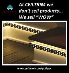 CEILTRIM Keeler Light Integrated Trim (LIT).  Metal designer castings of low voltage back lit LED for indoor or outdoor use!