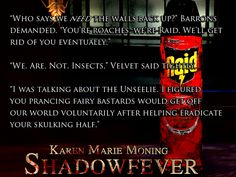 Jericho Barrons and Velvet #Shadowfever #FeverSeries #KarenMarieMoning #KMM