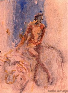 Lady and the Lion - Anita Kavaja