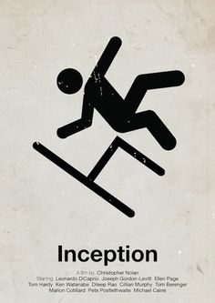 Pictogram Movie Posters: Inception