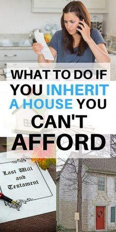 What to do if you inherit a house you can't afford #inherit #house #inheritance #longisland