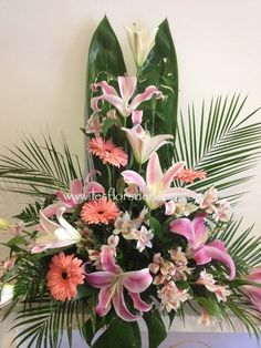 Centro floral Oriental