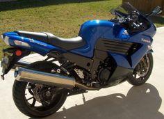 2006 Kawasaki ZX1400 Candy Plasma Blue