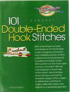 101 crochet double ended hock stitches by Marlene Maldonado - issuu