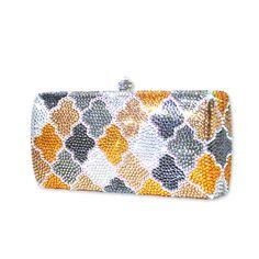 Puzzle Crystal Clutch Bag  #Swarovski #Clutchbag  http://www.playbling.com/en/puzzle-crystal-clutch-bag.html
