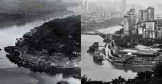 100 ans de croissance en Chine avec des photos avant-après - http://www.2tout2rien.fr/100-ans-de-croissance-en-chine-avec-des-photos-avant-apres/
