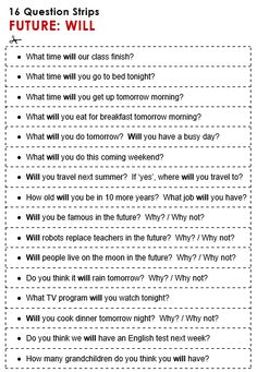 Quality ESL grammar worksheets, quizzes and games - from A to Z - for teachers & learners FUTURE with WILL English Grammar Exercises, English Grammar For Kids, Teaching English Grammar, English Worksheets For Kids, English Writing Skills, Grammar And Vocabulary, English Language Learning, Free English Lessons, Learn English For Free