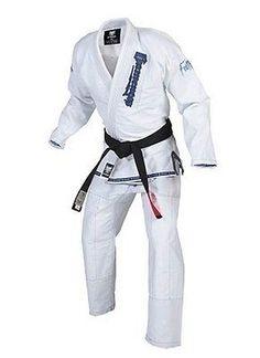 Gameness Feather Brazilian Jiu Jitsu BJJ Gi White uniform g1100
