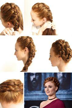 How To Do A Rapunzel Side Braid and Milkmaid Braid | How to be a Redhead #Braid #SideBraid #MilkmaidBraid
