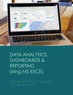 Data Analytics, Dashboards and Reporting using MS Excel Sales Dashboard, Dashboard Examples, Analytics Dashboard, Data Analytics, Data Science, Computer Science, Diy Computer Desk, Business Performance, Important Facts