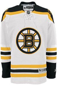 Boston Bruins Official Away Reebok Premier Replica NHL Hockey Jersey Reebok, Phil Esposito, Ray Bourque, Milan Lucic, Brad Marchand, Patrice Bergeron, Detroit Game, Bobby Orr, Nhl Hockey Jerseys