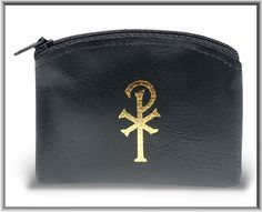 Regina's Catholic Gifts - BLACK CALF GRAIN VINYL ROSARY POUCH-PACK OF 6, $17.50 (http://www.reginascatholicgifts.com/black-calf-grain-vinyl-rosary-pouch-pack-of-6/)
