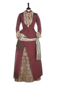 Worth visiting dress ca. 1875