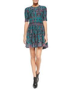 Art Deco Fleur Dress by M. Missoni at Neiman Marcus.