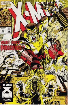 X-Men 1991 1st Series 19 April 1993 Issue Marvel by ViewObscura